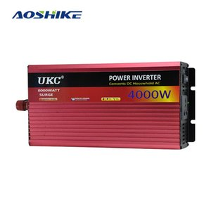 AOSHIKE المنزلية العاكس 2500W 3000W 4000W تعديل شرط موجة العاكس 12V إلى 220V محول الطاقة USB لمضخة طباخ