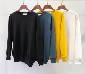 Yeni Moda Sonbahar Kış Erkek 108 Uzun Kollu Hoodie Hip Hop sweatshirt Coat Casual Giyim Triko Kazak Asya S-2XL