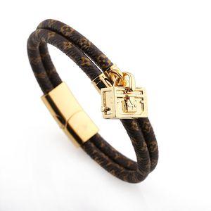 2020 женская любовь браслет из нержавеющей стали сумки дизайнер ювелирных изделий кожаный браслет Модельер браслет шарма