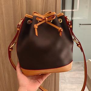 Новый конструктор Женщины реальная кожа Письмо печати Bucket Bag Мансур дама из натуральной кожи сумки плеча Gavriel кожи сумка Бесплатная доставка