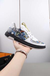 Nueva llegada de las mujeres ocasionales de los hombresLouisComodidadVuittonZapatos de moda británica zapatos de cuero de los zapatos de la patente para la señora del color # 1 L05