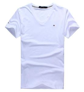 2020 neue T-Shirts Herren-Linie Bindung gefärbte T-SHIRT Sommermode Taschen Designer beiläufiger Strand Hombres