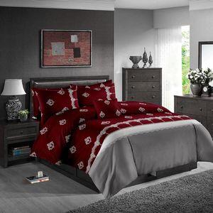 Set Bed Red Cama Wine Set clássico moda Crown 3D edredon cobrir Rei Rainha gêmeo completa Individual Duplo High End