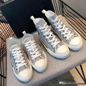 Designer femme chaussures de sport loisir hommes de lettres de la plate-forme bottes courtes luxe chaussures pour dames Chaussures à lacets plats de grande taille 35-45 chaussures de mode