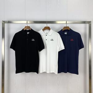 Envío libre del diseñador T Shirts CP Company Marca Polos para hombre T-Shirt Company Polos Para Hombres Mujeres CP traje de lujo Tees Cp tapa de la chaqueta 2072306L