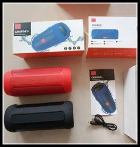 Speaker Bluetooth impermeável sem fio Bluetooth carga 2+ profunda Subwoofer colunas estéreo portáteis com navio Retail Box DHL