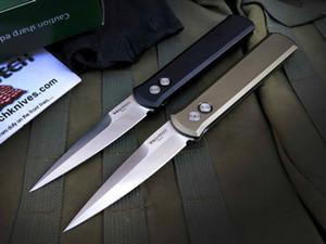 Protech крестный отец 920 одинарного действия тактической самообороны складной охотничий нож карманный EDC Походный нож охотничьи ножи подарок Xmas a3110