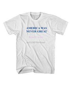 phiking Amérique n'a jamais été grand anti Trump Trump T-shirt Men2019 Fashion Style T-shirt