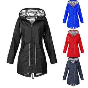 Hiking Jacket Outdoor Three-in-one Jacket Two-piece Suit Autumn And Winter Women's Zippered Windbreaker Waterproof Coat Outwear
