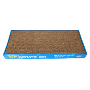 US stock corrugated board thick corrugated cat cat scratching board cat toy grinding claw plate double sided flat two to send catnip