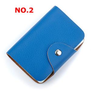 Women Men Business Card Case Credit Card Bag Credit ID Holder bank Case Card Holder Wallets
