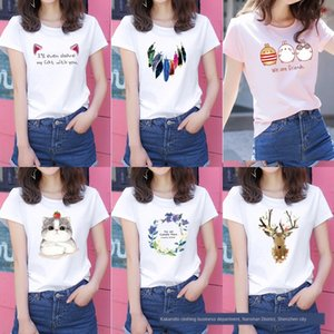 estate fabbrica YD5iF estate fabbrica di base di varie a maniche corte T-shirt da donna T- mutande mutande a maniche corte varie wo
