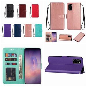 Porte-monnaie Case pour Samsung Note 20 10 Plus S20 Ultra A51 A71 A31 A70E 5G A21S Retro Crazy Horse Holder Slot Stand Vintage en cuir Flip Cover