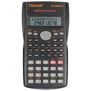 Portable Student Scientific Calculator 2 Linea Funzioni di visualizzazione 82MS-B elettronico Calcolare strumento Pocket Calculator