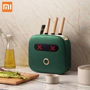 Xiaomi Kalar machine intelligente Couteau multifonctions désinfection Chopsticks UVC stérilisation Séchage Holder Fournitures de cuisine pour la maison