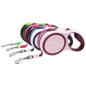 Dog Leash Adjustable Extending Rope 3M 5M Pet Products Automatic Retractable Strong Dog Puppy Leashes For Medium Big Dogs