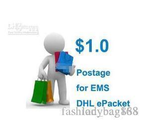 2018 Почтовые для DHL EMS Кита epacket Бесплатная доставка Оплата Ссылка Отправить ПОС мне найти женщин сумки новых