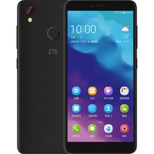 Original de telefone celular ZTE Lâmina A4 4G LTE 4GB RAM 64GB ROM Snapdragon 435 Octa Núcleo Android 5.45 polegadas 13MP 3200mAh Fingerprint ID Mobile Phone