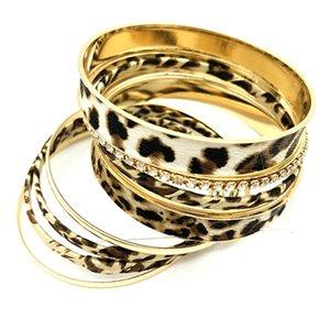 2020 Fashion Leopard Multi-layer Female Bracelet Print Accessories For Women