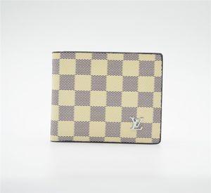 2020 Paris plaid style mens wallet for men and women purse special Leather purse multiple short Louìs Vuìttõn small bifold wallet gûccì
