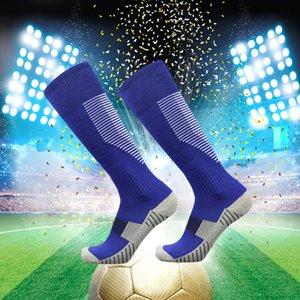 Kids Designer calcio calzini Ragazzi tubo lungo sopra il ginocchio bambino Alta Asciugamano fondo calzini bambini antiscivolo Sorcks formazione sportiva