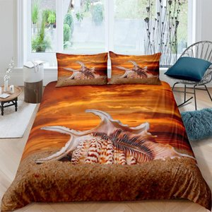 3D Duvet Cover Sets Blue Sea Dolphin Quilt Covers Comforter Case Set Bedding Set King Full Twin Double Single Size Bed Linens