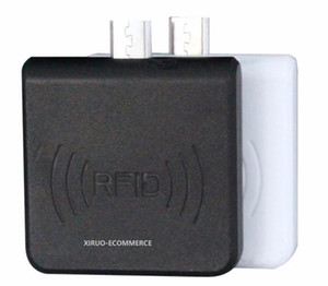 W65A 마이크로 USB RFID 안드로이드 리더 14443A 스마트 리더와 안드로이드 휴대 전화 은행 시스템 + SDK에 대한 작가 IC 카드 HF RFID 리더 라이터