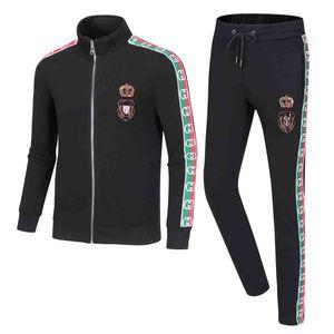 ss New 2020 Summer tracksuit Set Running mens tracksuit Letter Slim Clothing Track Kit Luxury Sports Short sleeve Suit
