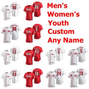 2020 البيسبول الفانيلة إمرأة 14 بيت روز جيرسي 11 باري اركن 5 جوني مقعد 19 جوي فوتو كريس سابو بيدرو ستروب مخصص مخيط