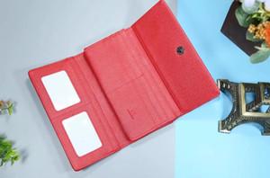Wholesale leather wallet for women multicolor designer short wallet Card holder women purse classic zipper pocket Victorine 2022#