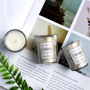 1pc Creative Soy cire romantique Bougie parfumée, Colonne créative parfumée Bougie d'anniversaire, pour les cadeaux de mariage Décoration d'intérieur