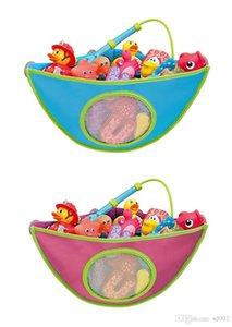 Pratical Storage Bag With Sucker Children Bath Toy Hanging Walls Strong Stickiness Kids Shower Have Fun 17 8pl ii