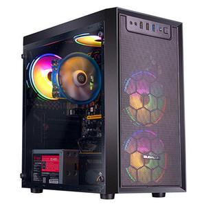 IPason Gaming PC AMD Ryzen3 4 Core 4 fil RX560 4G Carte graphique 240G SSD 8G Mémoire RVB Bureau PUBG GTA V Ordinateur