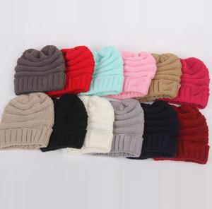 Bebek Şapka Beanie Cap Kış Erkek Kız Şapka Sevimli Çocuk Örme Bebek Crochet Kış Şapka Çocuk Aksesuarları LJJK2431-1 Isınma