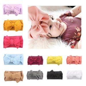 Baby Headbands Knot Headwear Newborn Hairband Children Head Wrap Child Soft Hair Bands Accessories Multi Color