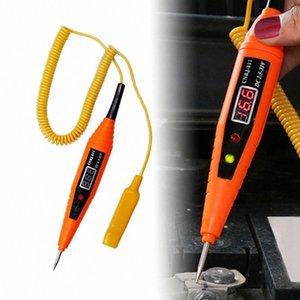 Инструменты светодиодные для автомобилей Авто Тестирование Diagnostics Tool Цифровой LCD Electric Voltage автомобилей для автомобильного испытания Pen Detector Tester talZ #