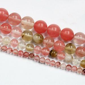 nkUOz Accessory bracelet accessories watermelon peel round 6 8 10MM scattered diy Diy Accessory Crystal bracelet accessories watermelon pee