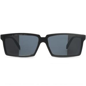 GBVdM creativas retrovisor trasero cámara de vista trasera espejo espejo reflectante espía vidrios divertidos Negro obligados gafas de sol pío de la cámara de visión trasera divertida