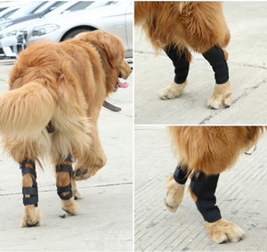 1 Pc Dog Leg Brace Hock Joint Knee Support Rear Therapeutic Pet protector Knee Injuries Support four size good