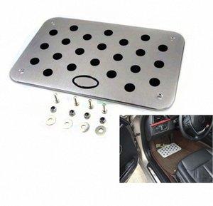Auto Car Aluminum Floor Mat Carpet resto del piede Emblem rilievo del pedale per Kia per KIA K2 K5 Sportage K7 universale da terra con xPFy #