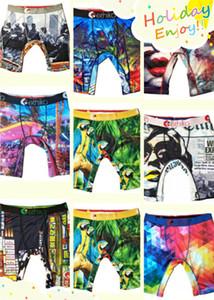 2020 Unisex Ethika pugilistas do roupa interior Técnico Graffiti Women Men aptidão Quick Dry Cotton Boxer Esporte Curto Boxer Cueca