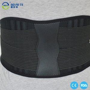 Hombres Mujeres ajustables correas de cintura Trimmer cintura del neopreno protector para Pull Deportes Seguridad doble apoyo apoyos de madera de construcción de la correa