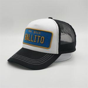 Toptan Custom 5 Paneli 3D Altın Nakış Yama Köpük Trucket Mesh Şapka Moda Spor Yüksek Kalite Trucker Hat Serbest DHL kargo Caps