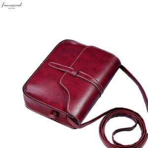 Vintage Purse Bag Leather Cross Body Shoulder Hasp Messenger Pu Bag