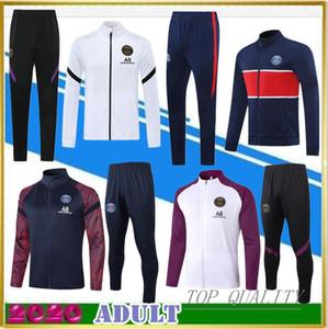 2020 París camisetas de fútbol del juego del Kit de formación 20 21 CAVANI CHANDAL chaqueta de chándal de fútbol