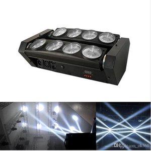 RGBW 4в1 привели спайдер свет водить 8x10w бар луч перемещение головы луч водить паук света RGBW