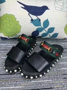 Ting2594 2191 New Ribbons With Round Beaded Sandals Casual Handmade Walking Tennis Sandals Slippers Mules Slides Thongs