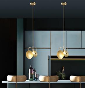 Modern Chandeliers Light Pendant Lighting Home Living Room Dining Room Bedroom Copper Gold Metal Ceiling Light Fixtures PA0152