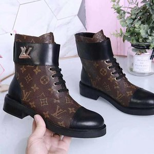 Hot Winter Womens Ankle Boots High Quality Ladies Boots Leather Fashion Boots Sexy Plus Size Luxury Chaussures De Femme Wonderland Flat Rang