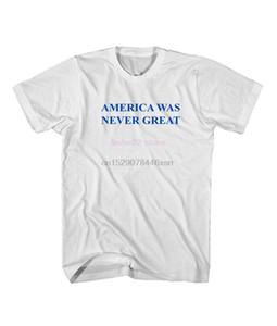 Phiking Amérique n'a jamais été grand anti Trump Trump T-shirt Men2020 style T-shirt de mode